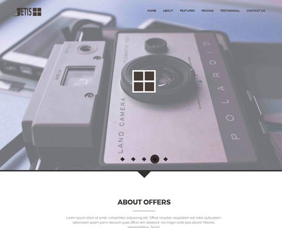 自媒体微摄影工作室网站模板_帝国cms模板