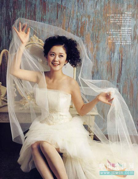 Photoshop复杂背景抠婚纱教程_亿码酷站___亿码酷站平面设计教程
