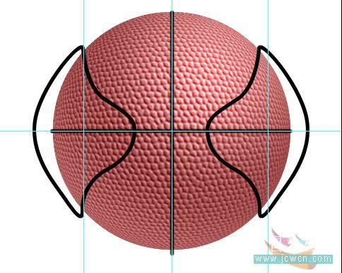 Photoshop滤镜制作逼真的篮球_亿码酷站___亿码酷站平面设计教程插图17