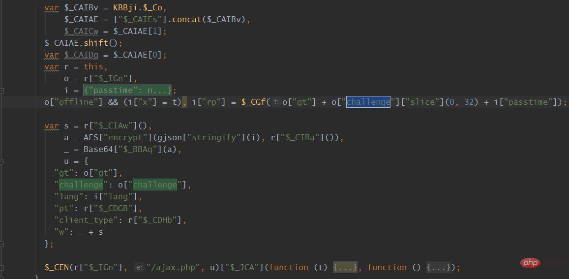 爬虫分析之 JS逆向某验滑动加密(1)_亿码酷站_亿码酷站插图8