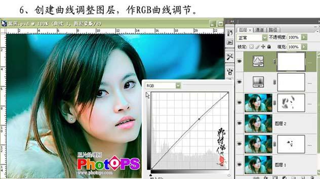 PS在Lab模式调出仿Ab色效果_亿码酷站___亿码酷站平面设计教程插图8