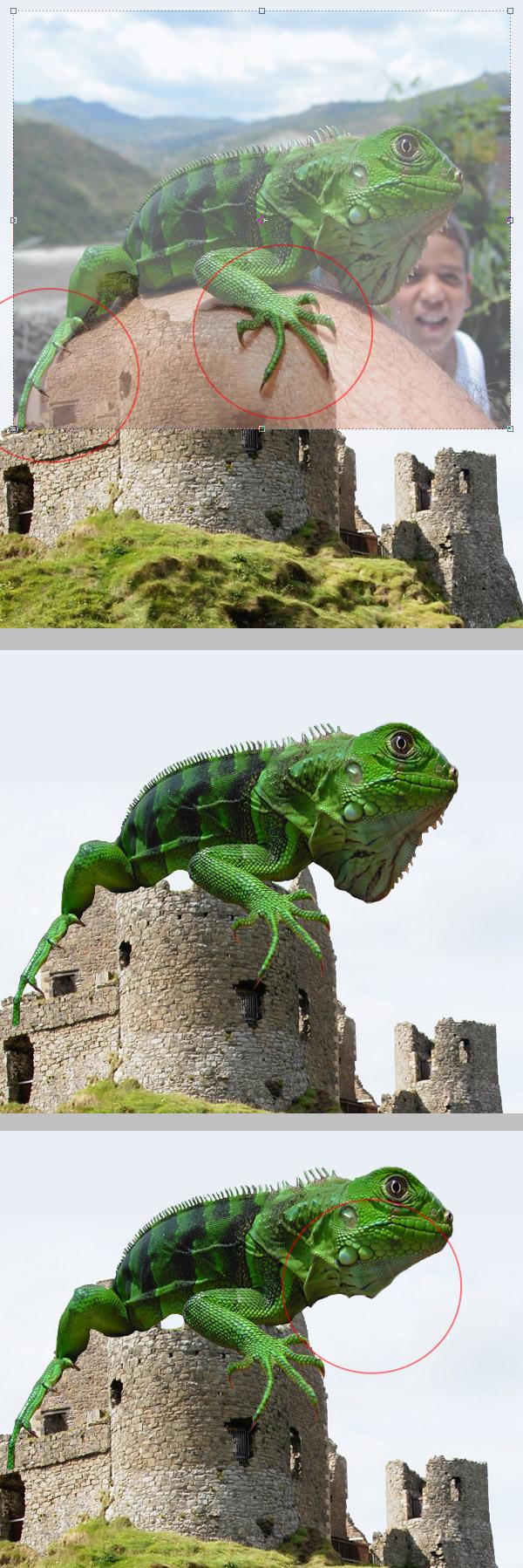 Photoshop图像合成实例:栩栩如生的翼龙_亿码酷站___亿码酷站平面设计教程插图3