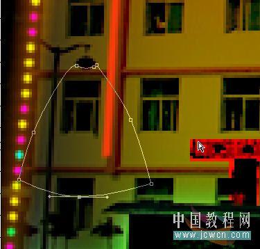 Photoshop把建筑照片处理成夜景效果_亿码酷站___亿码酷站平面设计教程_亿码酷站___亿码酷站平面设计教程插图21