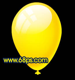 Photoshop制作漂亮的彩色气球_亿码酷站___亿码酷站平面设计教程插图19