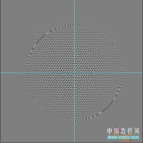Photoshop滤镜制作逼真的篮球_亿码酷站___亿码酷站平面设计教程插图5