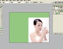 Photoshop给美女加上彩妆及头饰_亿码酷站___亿码酷站平面设计教程插图3
