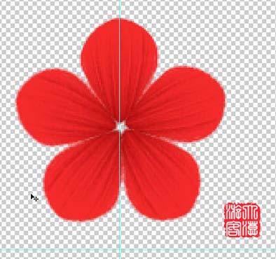 Photoshop鼠绘盛开的梅花_亿码酷站___亿码酷站平面设计教程插图8