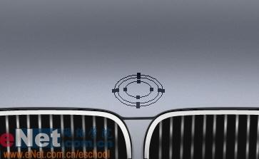 Photoshop鼠绘实例:宝马BMWM3_亿码酷站___亿码酷站平面设计教程插图14
