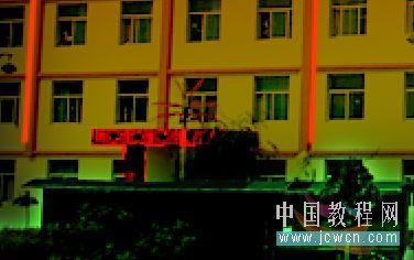 Photoshop把建筑照片处理成夜景效果_亿码酷站___亿码酷站平面设计教程_亿码酷站___亿码酷站平面设计教程插图20