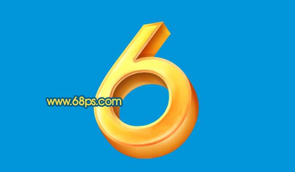 Photoshop打造黄金3D特效字_亿码酷站___亿码酷站平面设计教程插图13