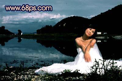 Photoshop快速打造暗调夜景婚片_亿码酷站___亿码酷站平面设计教程插图10