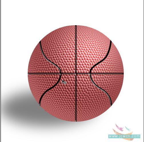 Photoshop滤镜制作逼真的篮球_亿码酷站___亿码酷站平面设计教程插图21