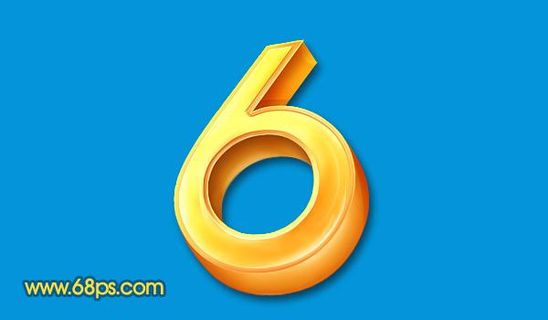 Photoshop打造黄金3D特效字_亿码酷站___亿码酷站平面设计教程