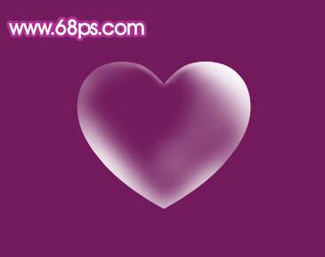 Photoshop制作漂亮的心形泡泡_亿码酷站___亿码酷站平面设计教程插图7