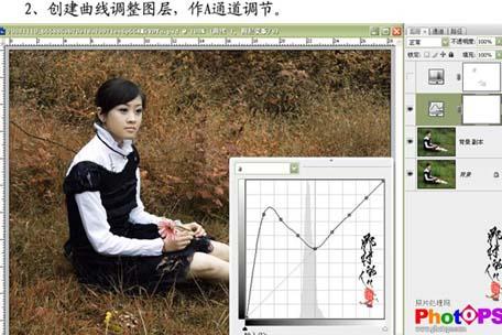 Photoshop快速调出照片的灰度回忆色_亿码酷站___亿码酷站平面设计教程插图4