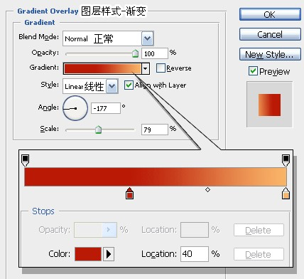 PhotoShop绘制逼真的苹果_亿码酷站___亿码酷站平面设计教程插图2