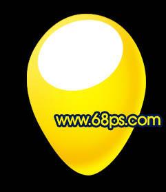 Photoshop制作漂亮的彩色气球_亿码酷站___亿码酷站平面设计教程插图12