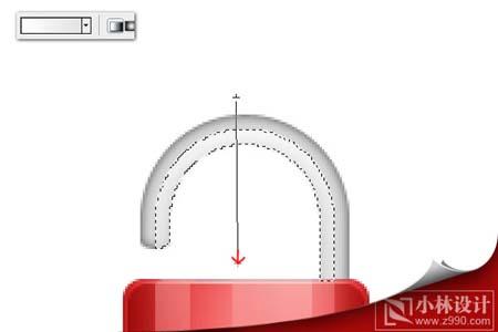 Photoshop制作精致的水晶锁图标_亿码酷站___亿码酷站平面设计教程插图16