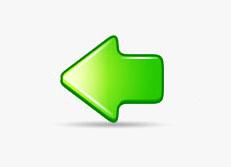 Photoshop制作漂亮的绿色水晶箭头图标_亿码酷站___亿码酷站平面设计教程