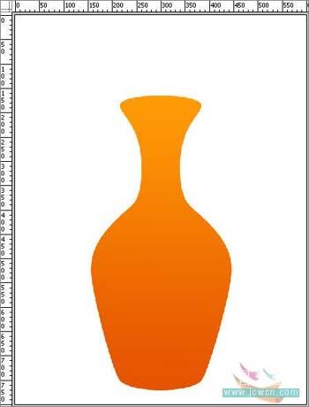 Photoshop打造一只精美艺术花瓶_亿码酷站___亿码酷站平面设计教程插图5