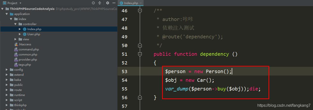 ThinkPHP容器之使用设计模式和反射实现一个简单的案例_亿码酷站_编程开发技术教程