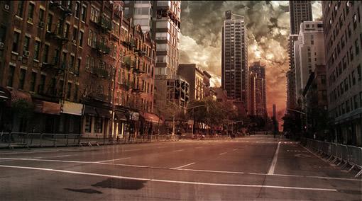 用Photoshop打造一座灾难城市_亿码酷站___亿码酷站平面设计教程插图3