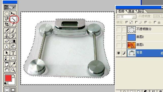 透明玻璃的PS抠图方法_亿码酷站___亿码酷站平面设计教程插图6