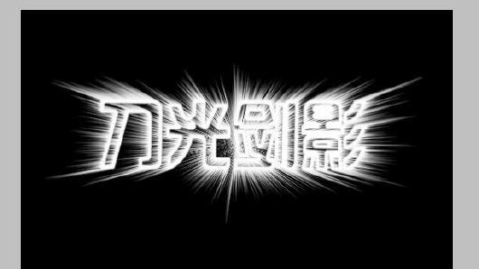 Photoshop制作光芒四射的文字效果_亿码酷站___亿码酷站平面设计教程插图6