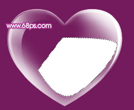 Photoshop制作漂亮的心形泡泡_亿码酷站___亿码酷站平面设计教程插图15