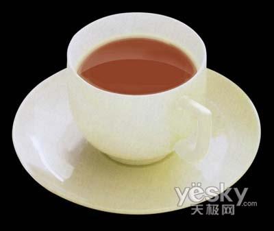 Photoshop精细修改茶杯_亿码酷站___亿码酷站平面设计教程插图7