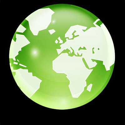 Photoshop绘制一个精致的水晶地球_亿码酷站___亿码酷站平面设计教程插图14