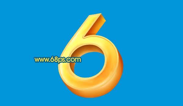 Photoshop打造黄金3D特效字_亿码酷站___亿码酷站平面设计教程插图14
