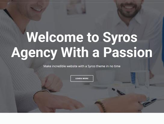 灰白色通用HTML5企业网站模板_亿码酷站