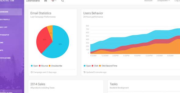 彩色软件UI界面后台管理模板_php网站模板