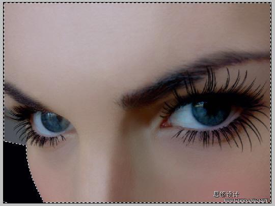Photoshop打造一双完美的眼睛_亿码酷站___亿码酷站平面设计教程插图8