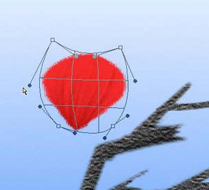 Photoshop鼠绘盛开的梅花_亿码酷站___亿码酷站平面设计教程插图14