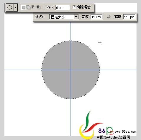 PS绘制金属质感袖珍指南针_亿码酷站___亿码酷站平面设计教程