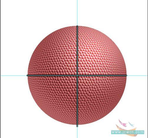 Photoshop滤镜制作逼真的篮球_亿码酷站___亿码酷站平面设计教程插图13