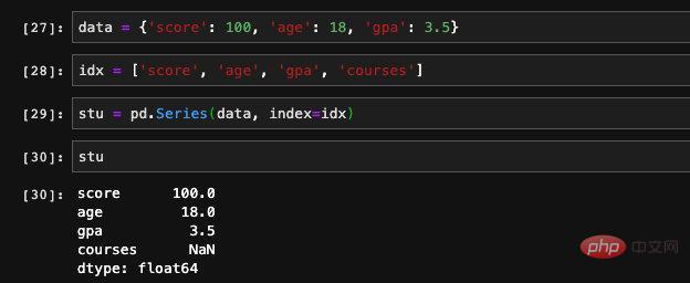 使用pandas进行数据处理之 Series篇_亿码酷站_编程开发技术教程插图11