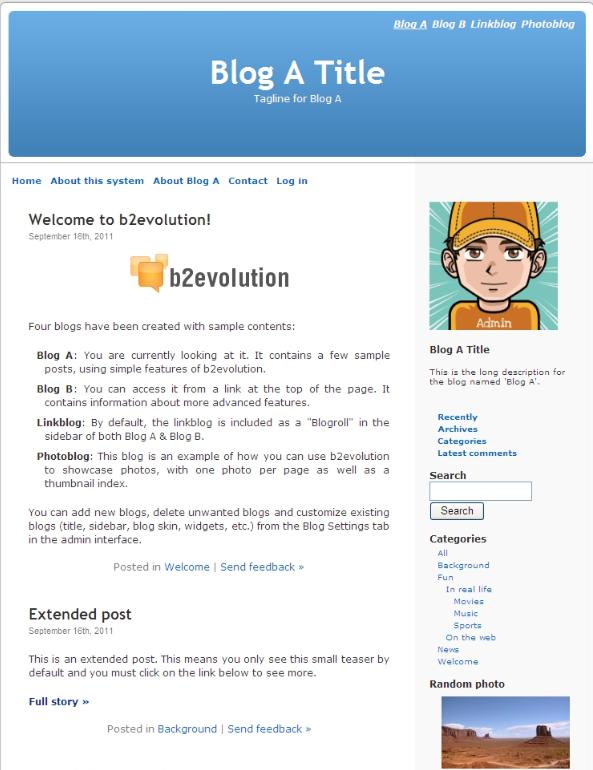 v6.10.1b2evolution博客系统_亿码酷站