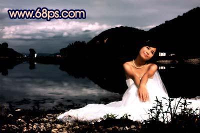 Photoshop快速打造暗调夜景婚片_亿码酷站___亿码酷站平面设计教程插图15