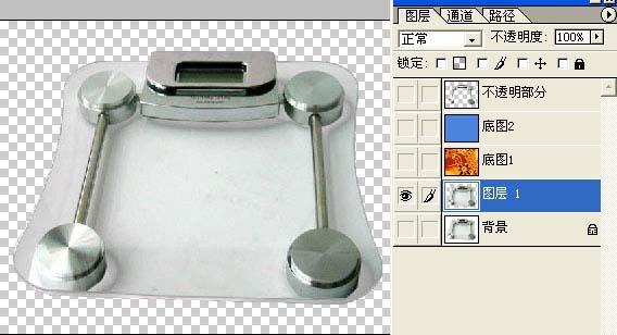 透明玻璃的PS抠图方法_亿码酷站___亿码酷站平面设计教程插图8
