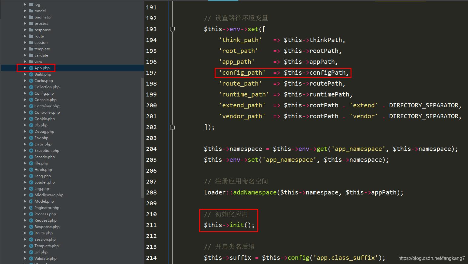ThinkPHP之配置源码执行流程_亿码酷站_编程开发技术教程插图3