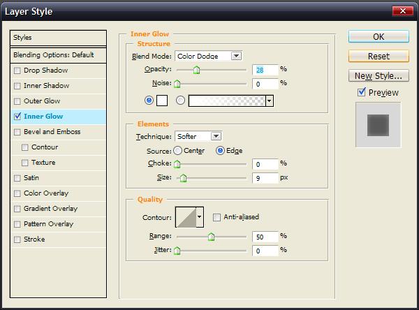 PS制作质感3D按钮_亿码酷站___亿码酷站平面设计教程插图3