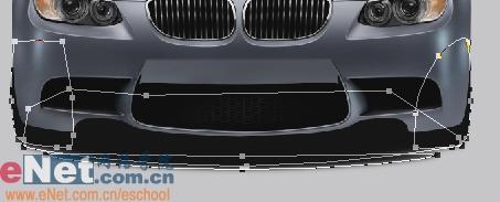 Photoshop鼠绘实例:宝马BMWM3_亿码酷站___亿码酷站平面设计教程插图33