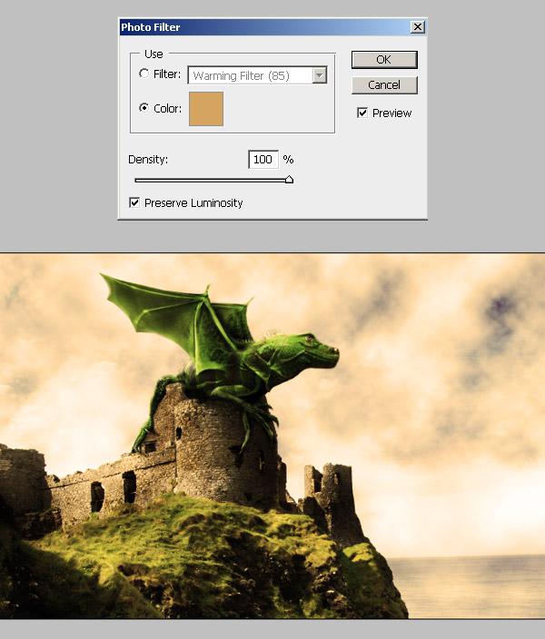 Photoshop图像合成实例:栩栩如生的翼龙_亿码酷站___亿码酷站平面设计教程插图21