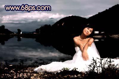 Photoshop快速打造暗调夜景婚片_亿码酷站___亿码酷站平面设计教程插图16