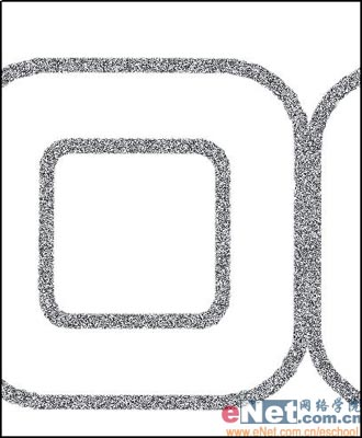 photoshop制作毛皮字效果_亿码酷站___亿码酷站平面设计教程插图5
