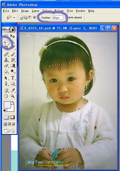 Photoshop快速修复偏色的照片_亿码酷站___亿码酷站平面设计教程插图7