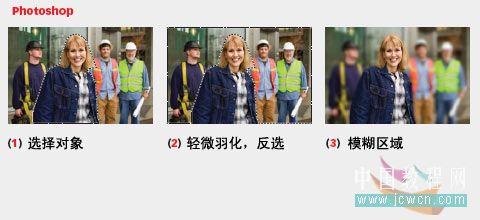 图片处理中八种快速突出主体的方法_亿码酷站___亿码酷站平面设计教程插图2